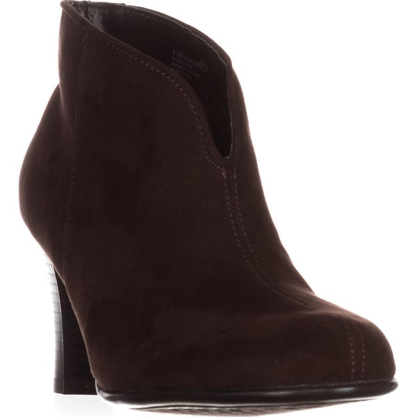 A2 Aerosoles Gold Role Ankle Booties, Brown