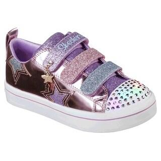 Skechers Kids' TWI-Lites-Twinkle Starz Sneaker