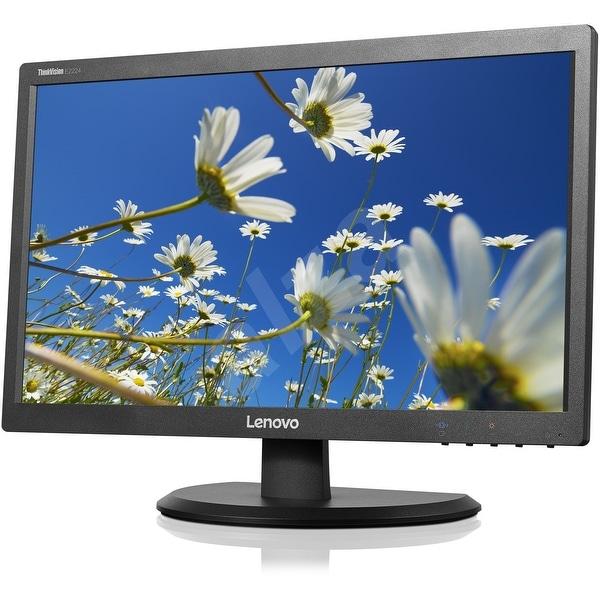 "Refurbished - Lenovo ThinkVision E2224 21.5"" LED-backlit LCD Monitor Full HD 1920x1080 VGA DVI"