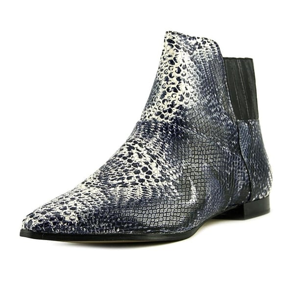 Calvin Klein Womens Eunice Pointed Toe Ankle Fashion Boots