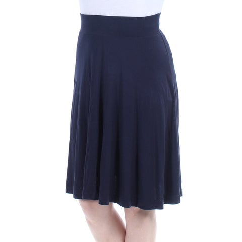 Womens Navy Casual Skirt Size 2XS