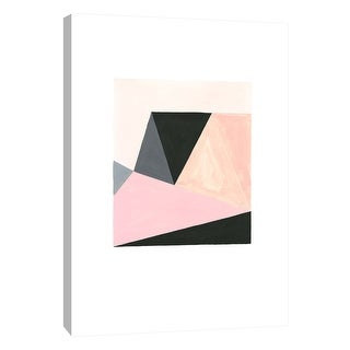 """PTM Images 9-105619  PTM Canvas Collection 10"""" x 8"""" - """"Pastel Fractals 2"""" Giclee Abstract Art Print on Canvas"""