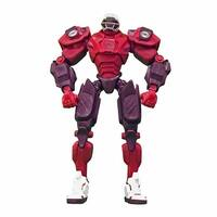 "NFL Arizona Cardinals 10"" Cleatus Fox Robot Action Figure - multi"