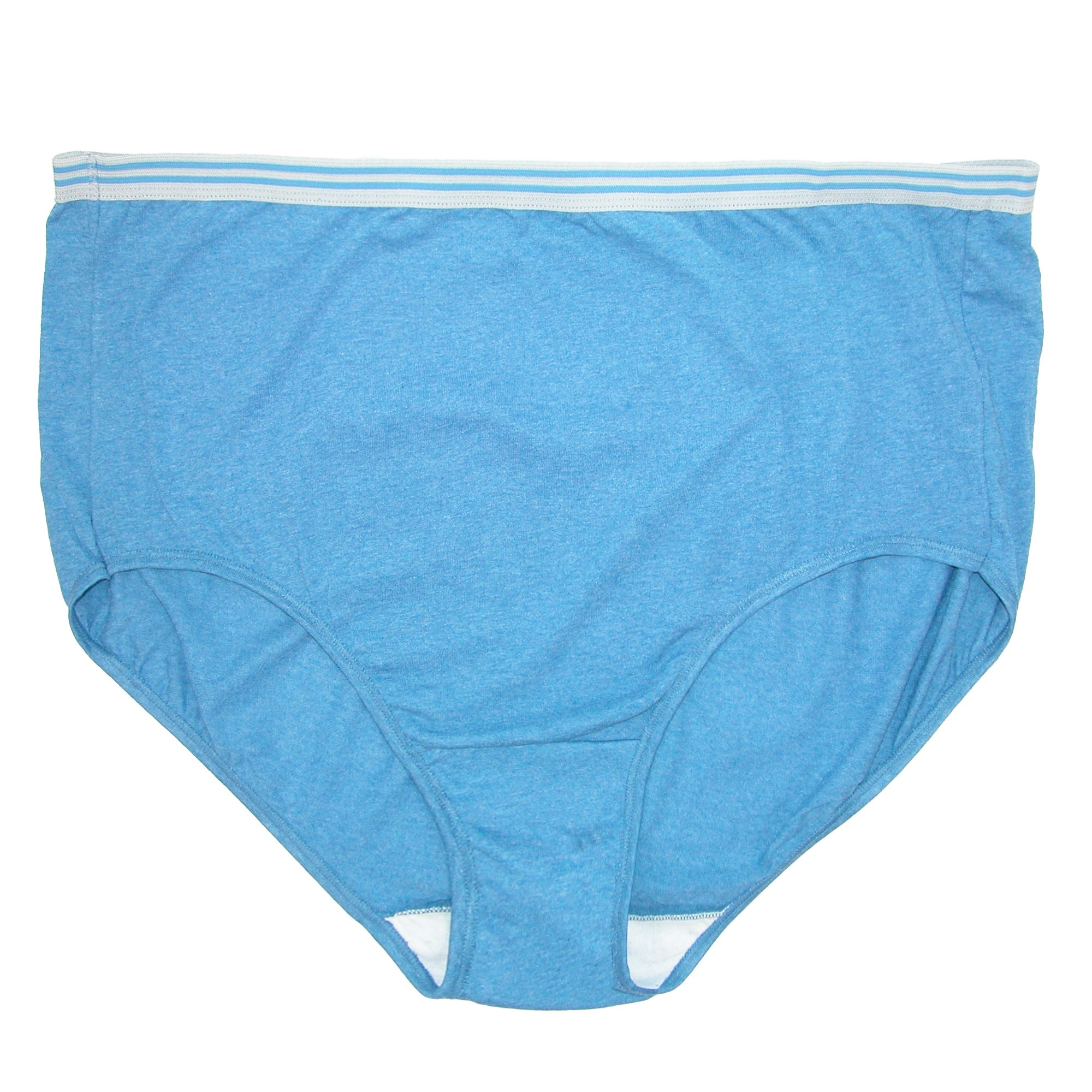 adcc1d6fc4a3f0 Shop Fruit of the Loom Women's Plus Size Heathered Briefs Underwear (5 Pair  Pack) - Free Shipping On Orders Over $45 - Overstock - 21147319