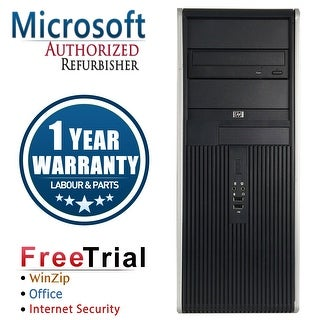 Refurbished HP Compaq DC7900 Tower Core 2 Duo E8400 3.0G 4G DDR2 320G DVD WIN 10 Pro 64 1 Year Warranty - Silver
