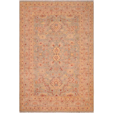 """Bohemien Ziegler Iliana Hand Knotted Area Rug -6'1"""" x 8'10"""" - 6 ft. 1 in. X 8 ft. 10 in."""