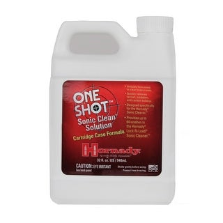 Hornady One Shot Sonic Clean Solution 32 Fl, Oz