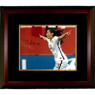 05b6e383417 Shop Christen Press signed 8x10 Photo Custom Framed First Goal Team USA  2015 World Cup horizontalside vi - Free Shipping Today - Overstock -  20686764
