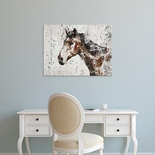 Easy Art Prints Irena Orlov's 'Galaxy Horse II' Premium Canvas Art