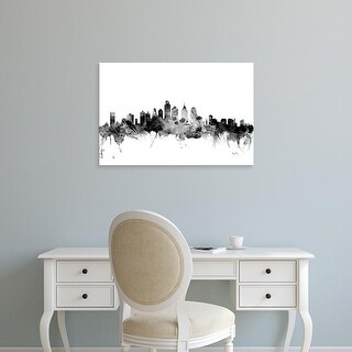 Easy Art Prints Michael Tompsett's 'Philadelphia Pennsylvania Skyline' Premium Canvas Art