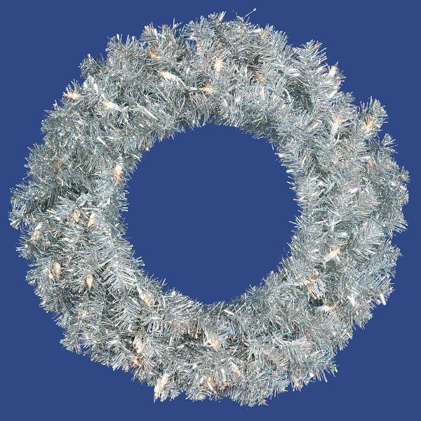 "30"" Silver Wreath Dural 70CL Lts 260T"