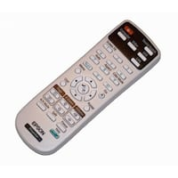 OEM Epson Projector Remote Control Originally Shipped With: PowerLite 1761W