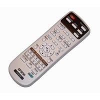 OEM Epson Projector Remote Control Shipped With: PowerLite 1751, 1771W, 1776W