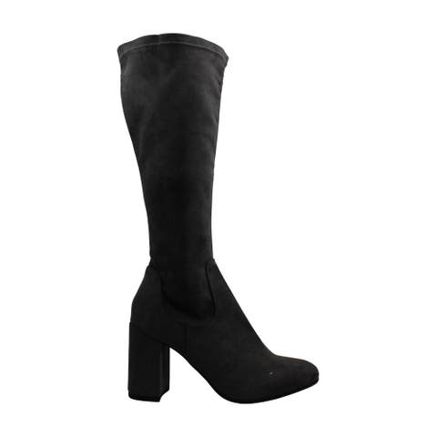 ESPRIT Womens Violetta Suede Closed Toe Knee High Fashion Boots