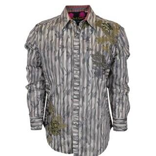 Robert Graham Limited Edition Numbered KINGFISH Sports Dress Shirt XL