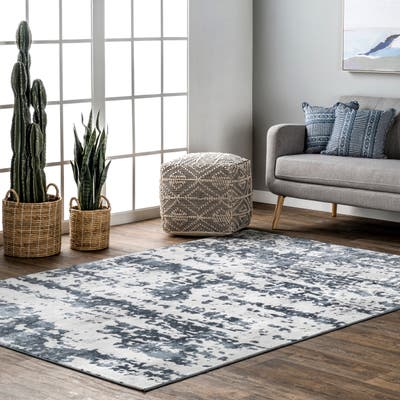 nuLOOM Ginny Contemporary Speckled Abstract Area Rug