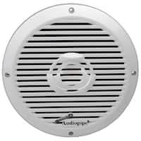 "Audiopipe 8"" 2-Way Coaxial Marine Speaker 350W White"