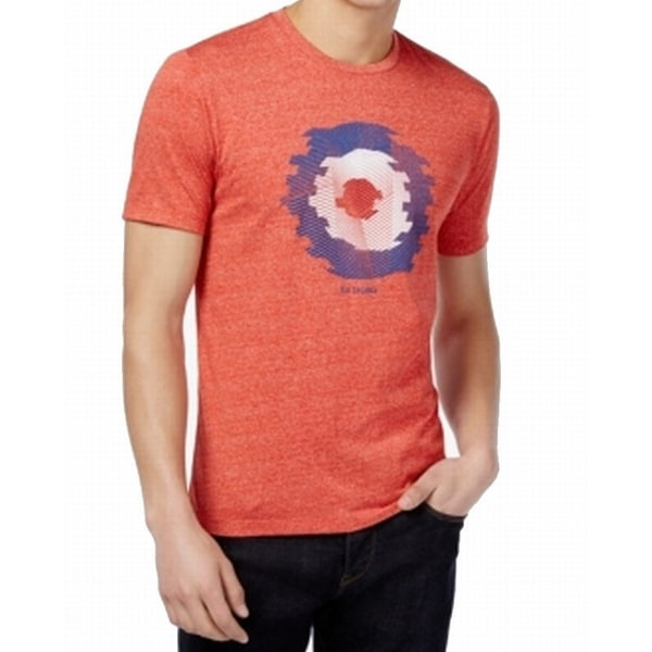 89bc849ed Shop Ben Sherman NEW Red Mens Large L Distorted Target Graphic Tee T-Shirt  - Free Shipping On Orders Over $45 - Overstock - 21280987