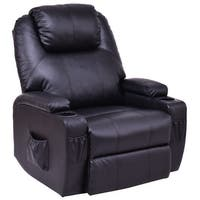 Costway Lift Chair Electric Power Recliner w/Remote and Cup Holder Living Room Furniture