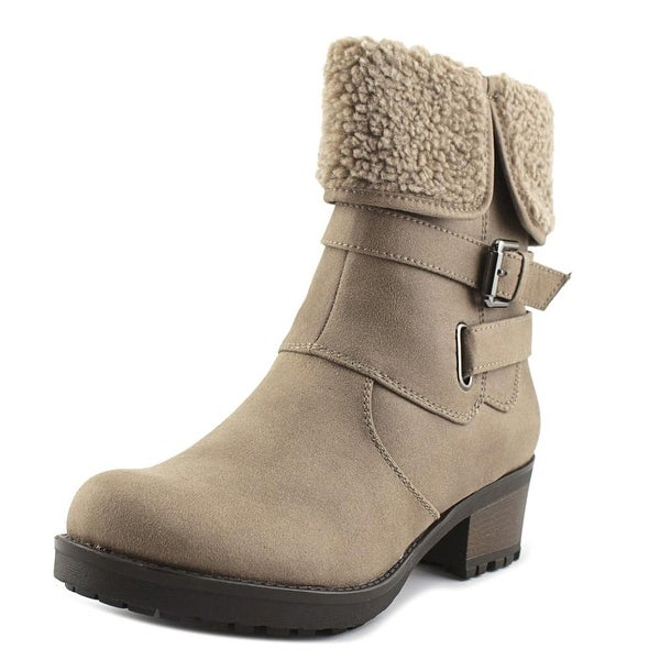White Mountain Band Wagon Women Round Toe Synthetic Ankle Boot