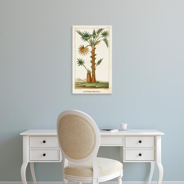 Easy Art Prints Turpin's 'Turpin Exotic Palms I' Premium Canvas Art