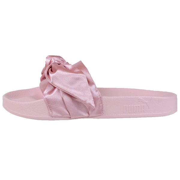new arrival a658d 2e9a1 Puma Womens Fenty by Rihanna Pink Bow Slide 36577403 Sandals Shoes