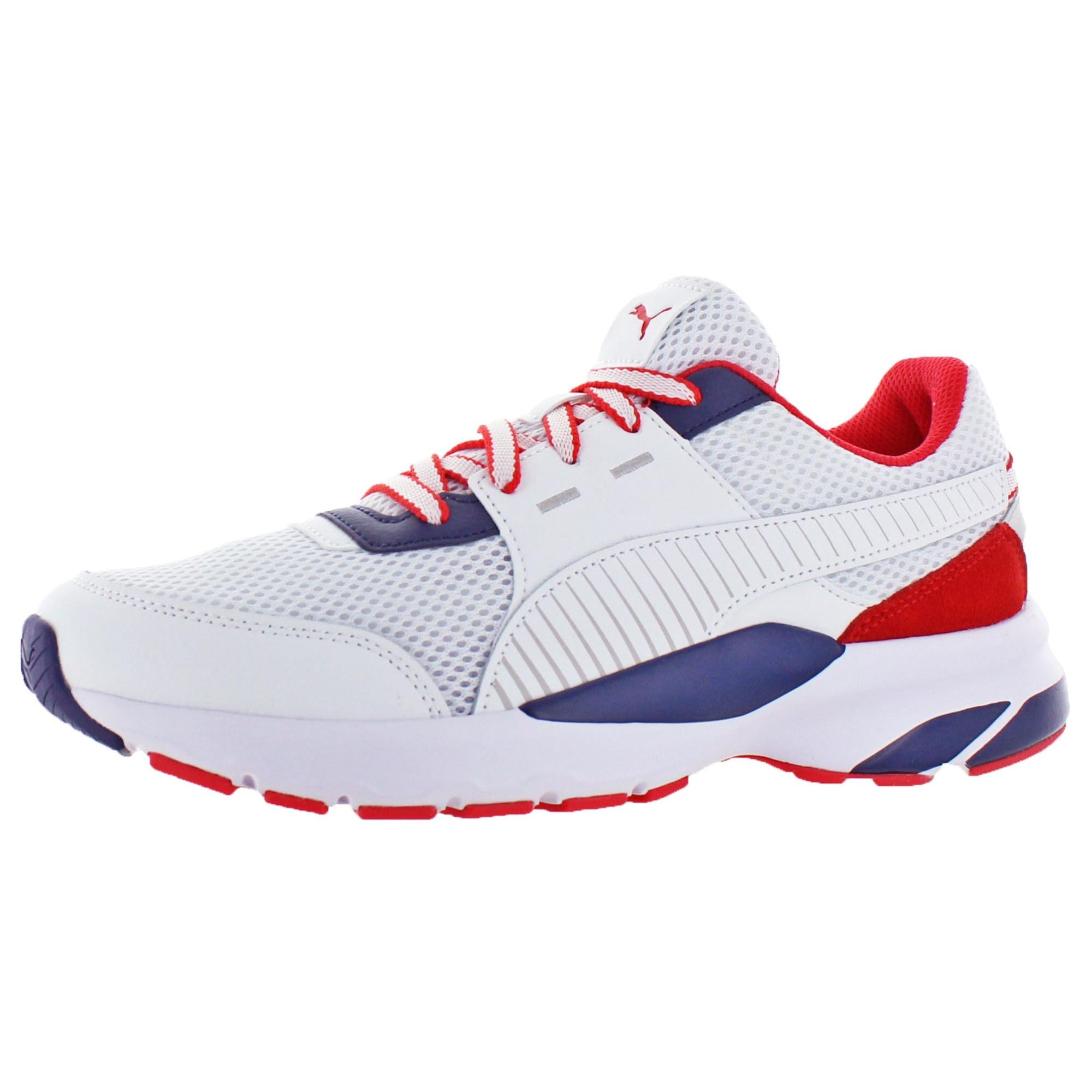 shop puma men s future runner men s retro 90 s dad sneaker trainers overstock 27102859 puma men s future runner men s retro 90 s dad sneaker trainers