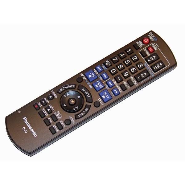 NEW OEM Panasonic Remote Control Originally Shipped With DMR-EZ485VK, DMREZ48K