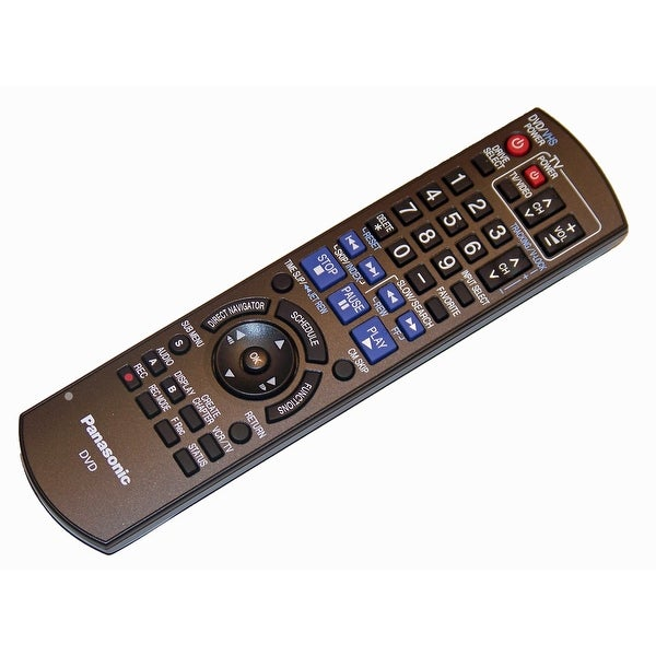 NEW OEM Panasonic Remote Control Originally Shipped With DMREZ485, DMR-EZ485