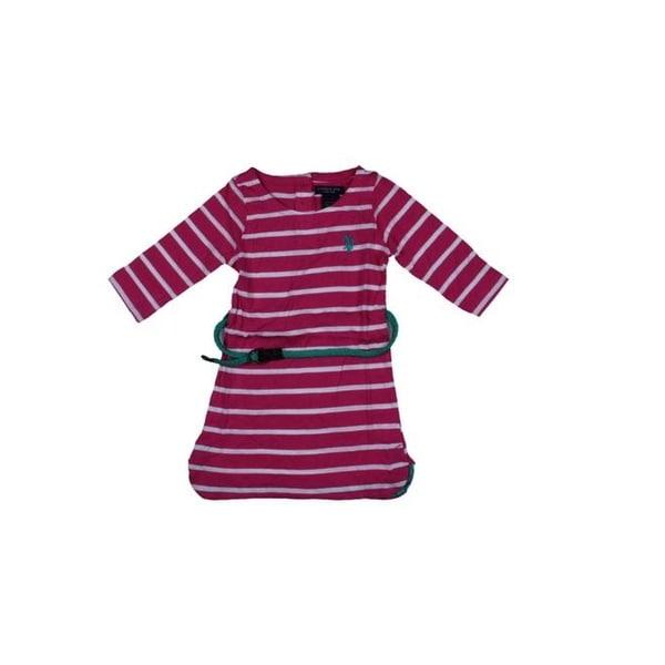 U.S. Polo Assn. Girls Tunic Top Striped