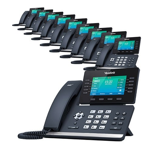 Yealink SIP-T54S - 10 Pack T54S Media IP Phone