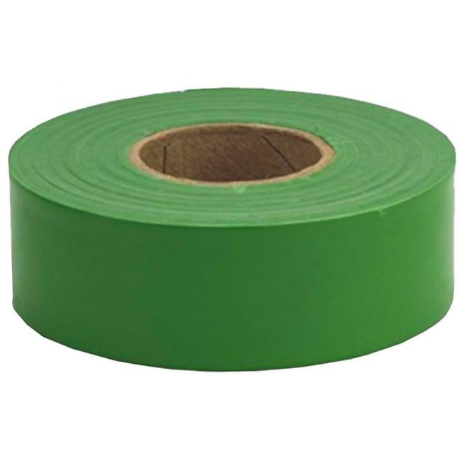 CH Hanson 17026 Standard Green Flagging Tape, 2 Mil, 1-3/16 x 300