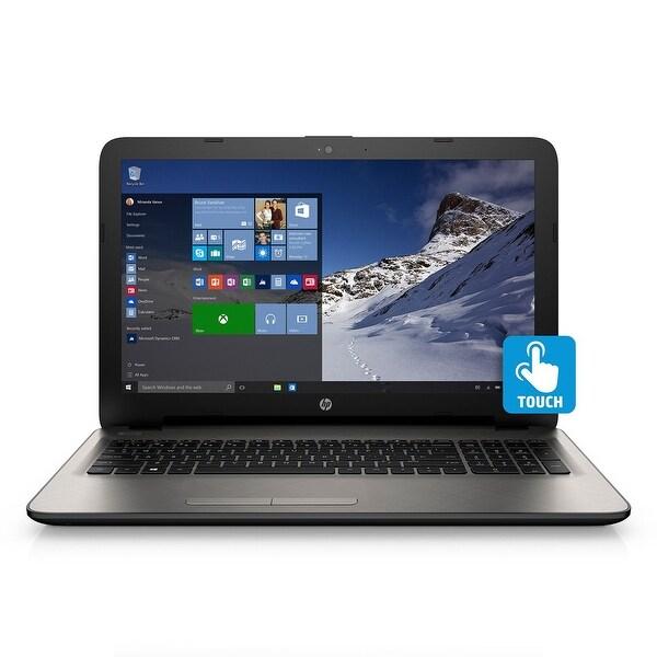 """HP 15-AF171NR 15.6"""" Touch Laptop AMD A6-6310 1.8GHz 4GB 500GB Windows 10"""