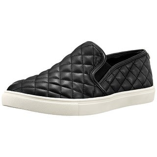 Steve Madden Womens Ecentrcq Low Top Slip On Fashion Sneakers