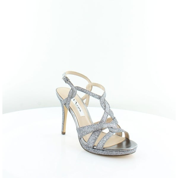 9d416b83e Shop Nina Raeni Women s Sandals Pewter Baby Glitter - 7 - Free ...