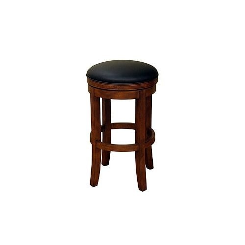 American Heritage Billiards Winston Counter Stool 26 Tall Wood Frame Amaretto