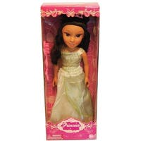 "19"" Princess Doll In Green Dress (Jasmine Like) - multi"