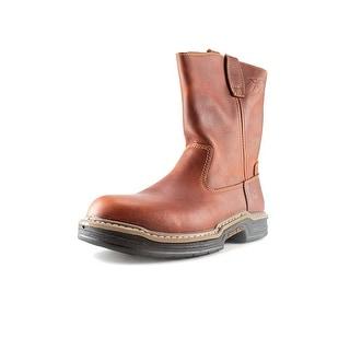"Wolverine Raider 10"" Steel Toe Leather Work Boot"