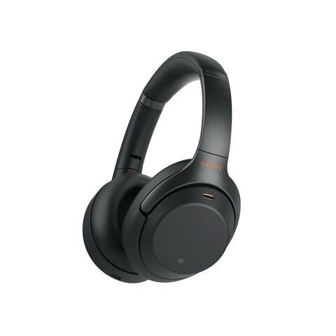 Sony WH1000XM3 Bluetooth Wireless Noise Canceling Headphones, Black