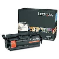 Lexmark X654X21A Black High Yield Toner Cartridge For X656dte / X658dfe - 32000 Pages