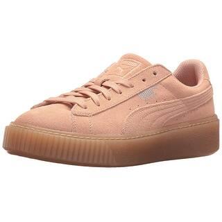 Kids PUMA Girls jewel Suede Low Top Lace Up Fashion Sneaker b0e781750