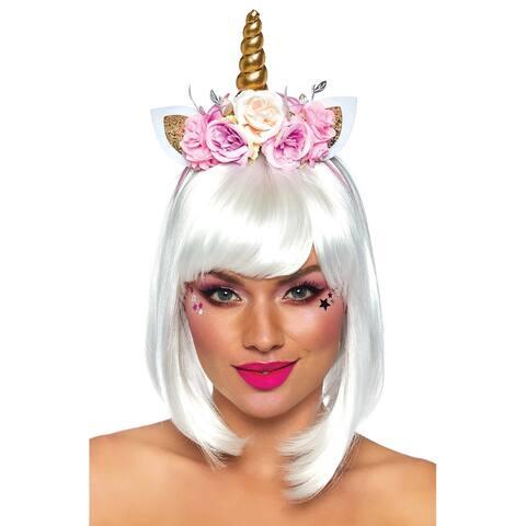 Leg Avenue Fairy Unicorn Flower Headband - Multi