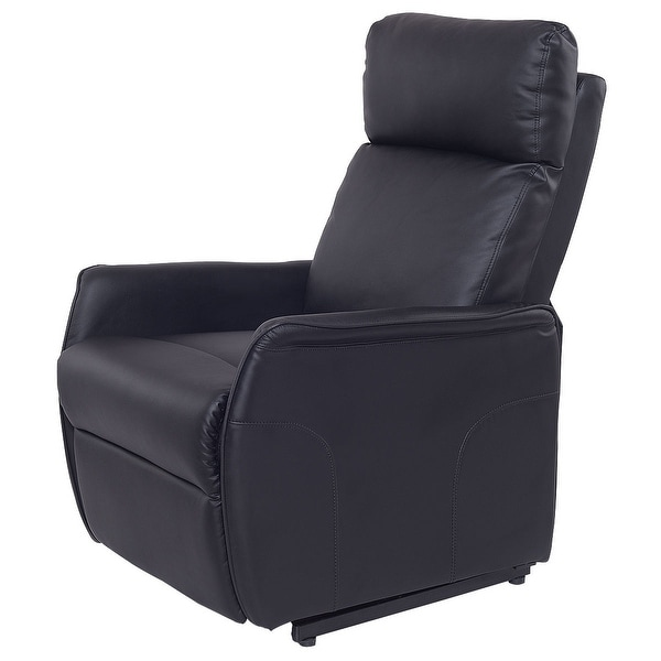 Shop Costway Pu Electric Lift Chair Power Recliner