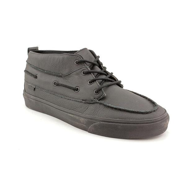 ecb525df53 Shop Vans Chukka Del Barco Decon CA Apron Toe Leather Chukka Boot ...