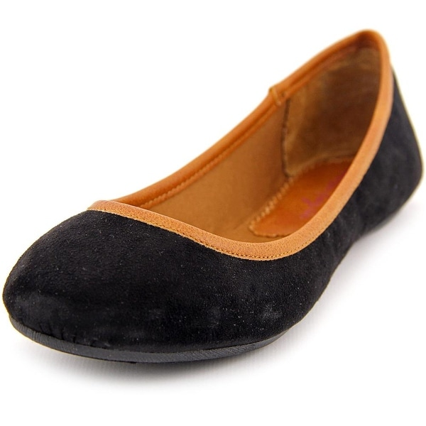 American Rag Cellia Women Round Toe Synthetic Black Flats