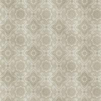 Brewster 2618-21339 Tendilla Taupe Lattice Wallpaper - taupe lattice - N/A