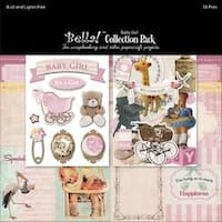 "Baby Girl - Bella! Collection Pack 12""X12"""