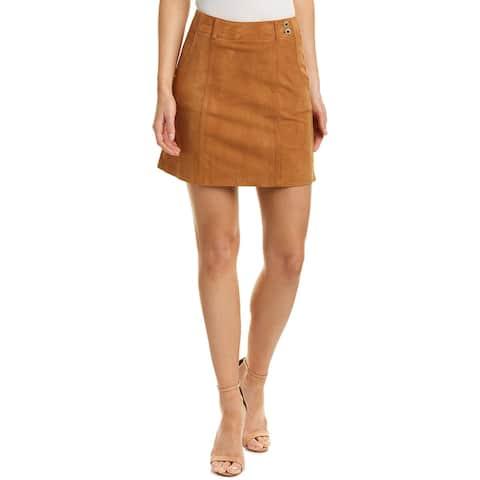 Ag Jeans Juliette Nautical Suede Skirt