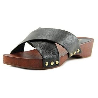 BCBGeneration Soho Women Open Toe Leather Slides Sandal