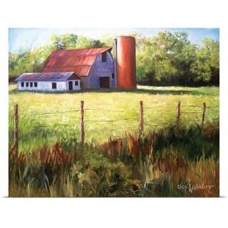 Cheri Wollenberg Poster Print entitled Best Ark Barn